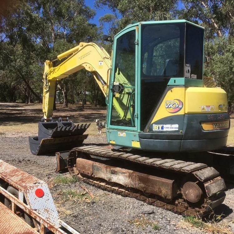 8 tonne excavator 527